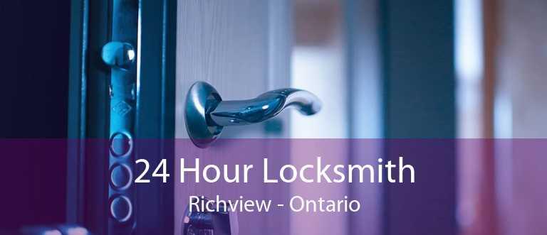 24 Hour Locksmith Richview - Ontario