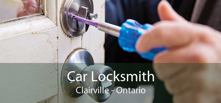 Car Locksmith Clairville - Ontario