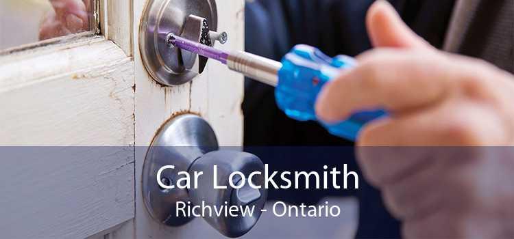 Car Locksmith Richview - Ontario