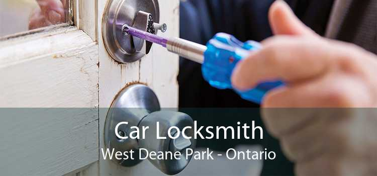 Car Locksmith West Deane Park - Ontario