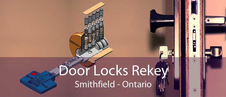 Door Locks Rekey Smithfield - Ontario