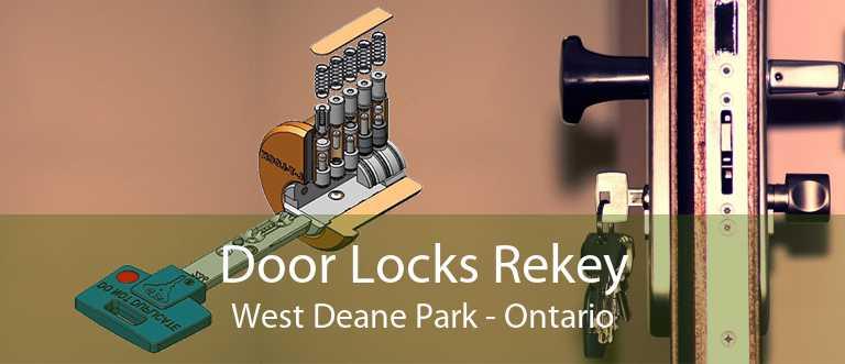 Door Locks Rekey West Deane Park - Ontario