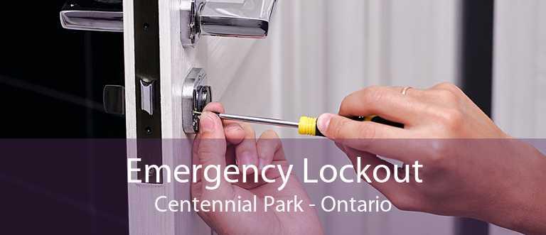 Emergency Lockout Centennial Park - Ontario