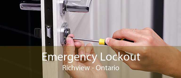Emergency Lockout Richview - Ontario