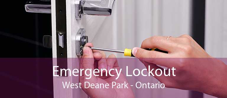 Emergency Lockout West Deane Park - Ontario