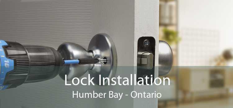 Lock Installation Humber Bay - Ontario