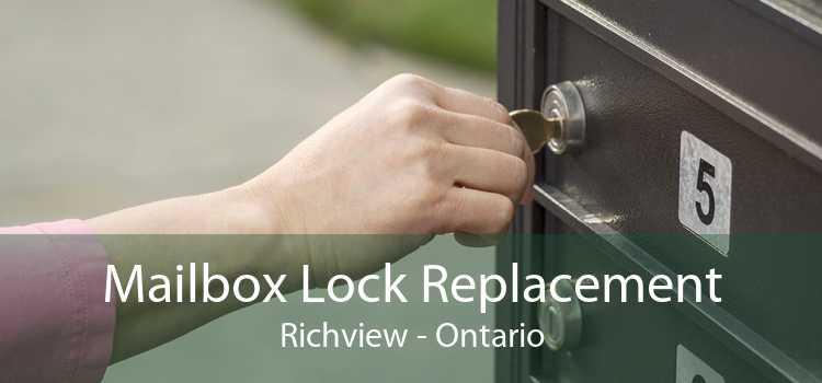 Mailbox Lock Replacement Richview - Ontario