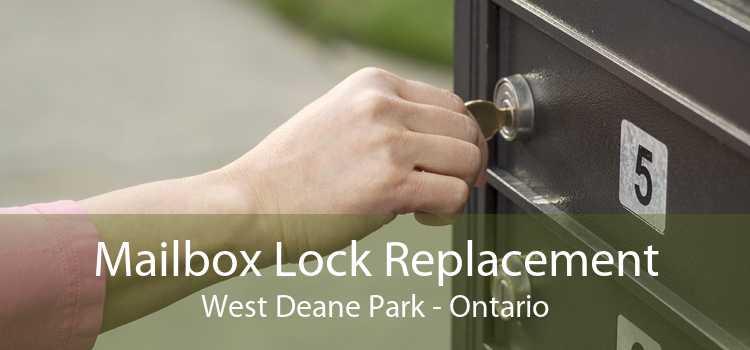 Mailbox Lock Replacement West Deane Park - Ontario