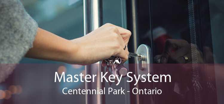 Master Key System Centennial Park - Ontario