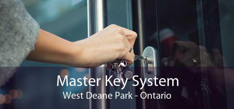 Master Key System West Deane Park - Ontario