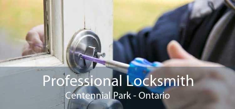 Professional Locksmith Centennial Park - Ontario
