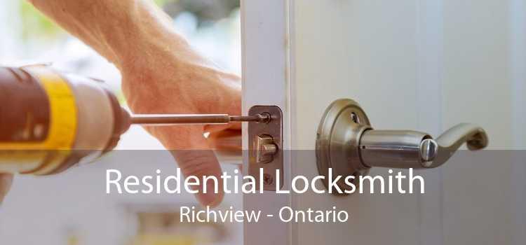 Residential Locksmith Richview - Ontario